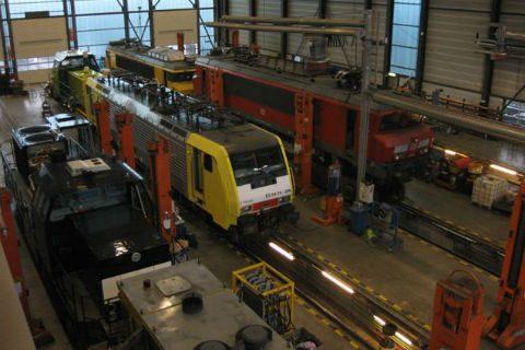 Werkplaats, Shunter, Rotterdam