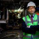 Peter Dijk, projectdirecteur Noord/Zuidlijn, foto: Frank Lodder