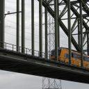 Intercity, trein, NS, Rijnbrug, spoorbrug
