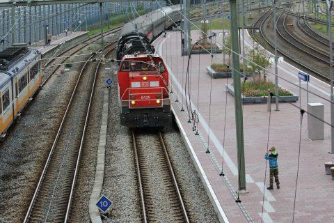 DB Schenker Express, stoomtrein, Wereldhavendagen Rotterdam