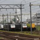 Locomotieven, haven Rotterdam
