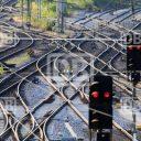 Wissels, spoor, Neurenberg, Duitsland