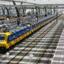 Intercity Direct met twee locomotieven
