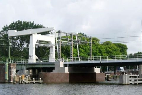 Spaarnebrug, spoorbrug