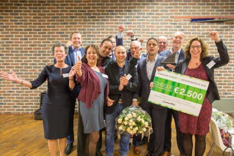 Consolid wint STOOF Leerwerkprijs 2015