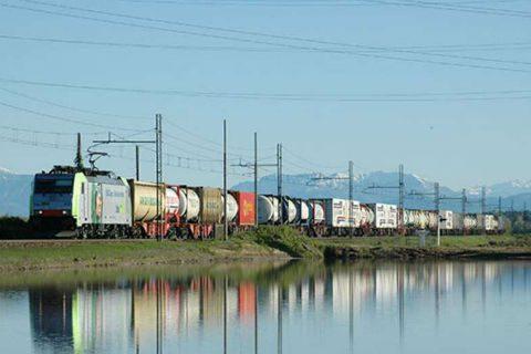 Containertrein, goederentrein
