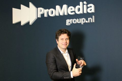 Joan Blaas, directeur ProMedia Group, FD Gazelle
