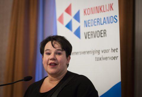 Staatssecretaris Sharon Dijksma van Infrastructuur en Milieu, foto: Bart Maat