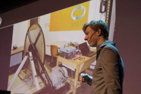 Presentatie Hyperloop-ontwerp studententeam TU Delft