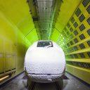 Siemens test passagierstrein ICE 4 voor Deutsche Bahn