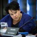 Staatssecretaris Sharon Dijksma van Infrastructuur en Milieu
