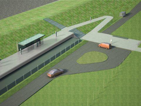 Ontwerp spoorverbinding Roodeschool - Eemshaven