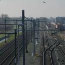 Spoorlijn industrieterrein Loven in Tilburg