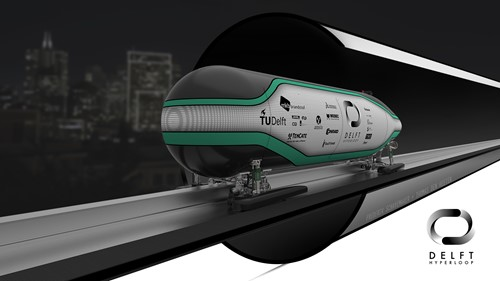 Hyperloop-capsule TU Delft