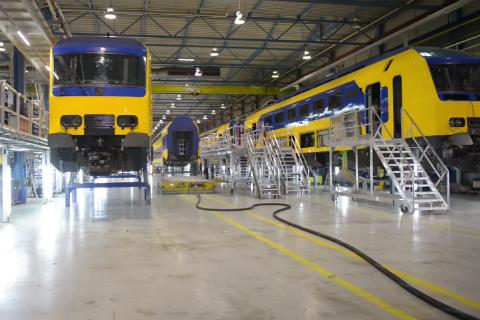 Onderhoudswerkplaats NedTrain Haarlem