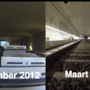Spoortunnel Noord/Zuidlijn video