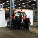 Start sloop NedTrain-werkplaats in Maastricht