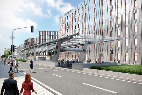 Impressie van de aan te leggen metrotunnel in Frankfurt, bron: DB Netz AG, CADMAN