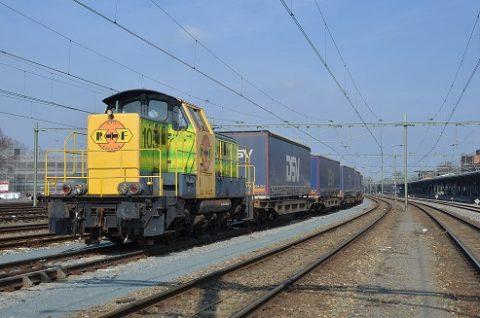 Spoorgoederenvervoerder Rotterdam Rail Feeding
