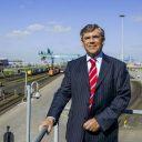 Aart Klompe, voorzitter KNV Spoorgoederenvervoer