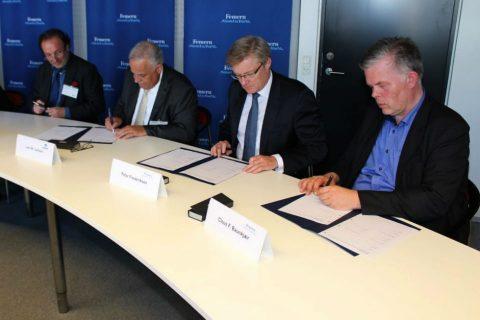 Ondertekening contract Femernbelt-verbinding