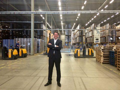 Directeur Logistic Operations Robert van der Waal van Samsung