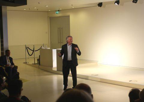 Directeur Pier Eringa van ProRail
