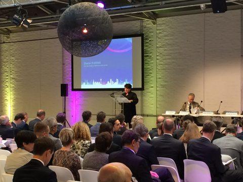 Staatssecretaris Sharon Dijksma op de TEN-T Dagen in Rotterdam