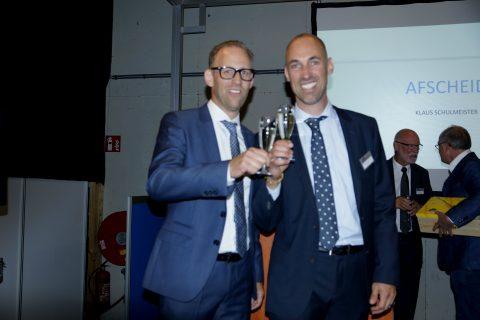 Directeuren Rogier en Sander Schulmeister van ETS Spoor