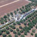 Treinongeluk, Puglia, botsing (bron: ANP)