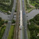 Spoorverdubbeling bij Schiphol, foto: ANP