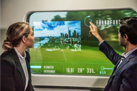 Augmented Window, Hyperloop Transportation Technologies