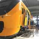 Vernieuwde VIRM-dubbeldekker, werkplaats NedTrain Haarlem