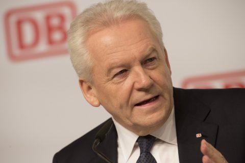 Rüdiger Grube, algemeen directeur van Deutsche Bahn