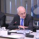 Directeur Ad Toet van KNV, hoorzitting Tweede Kamer