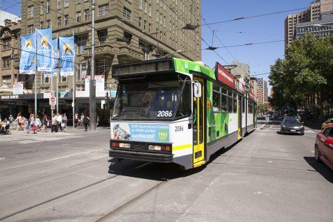 Yarra Trams, tram B-Class in Melbourne