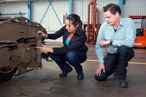 Reliability engineer Pauline Poot van NedTrain