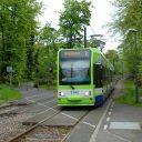 Een tram van het netwerk Tramlink in Londen, foto: Transport for London