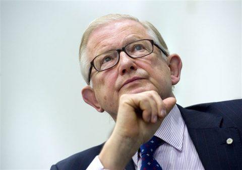 Pieter van Vollenhoven, oud-voorzitter van de Onderzoeksraad voor Veiligheid, foto: ANP