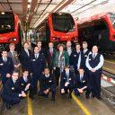 Onthulling van de R-net treinen bij NedTrain in Leidschendam