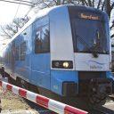 Een trein van Connexxion op de Valleilijn