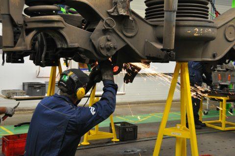 Ombouw rijtuigen voor HSL in Ommen