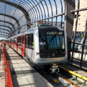 Metro, testrit, station Noord
