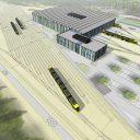 Nieuwe tramremise Utrecht ( foto: provincie Utrecht)