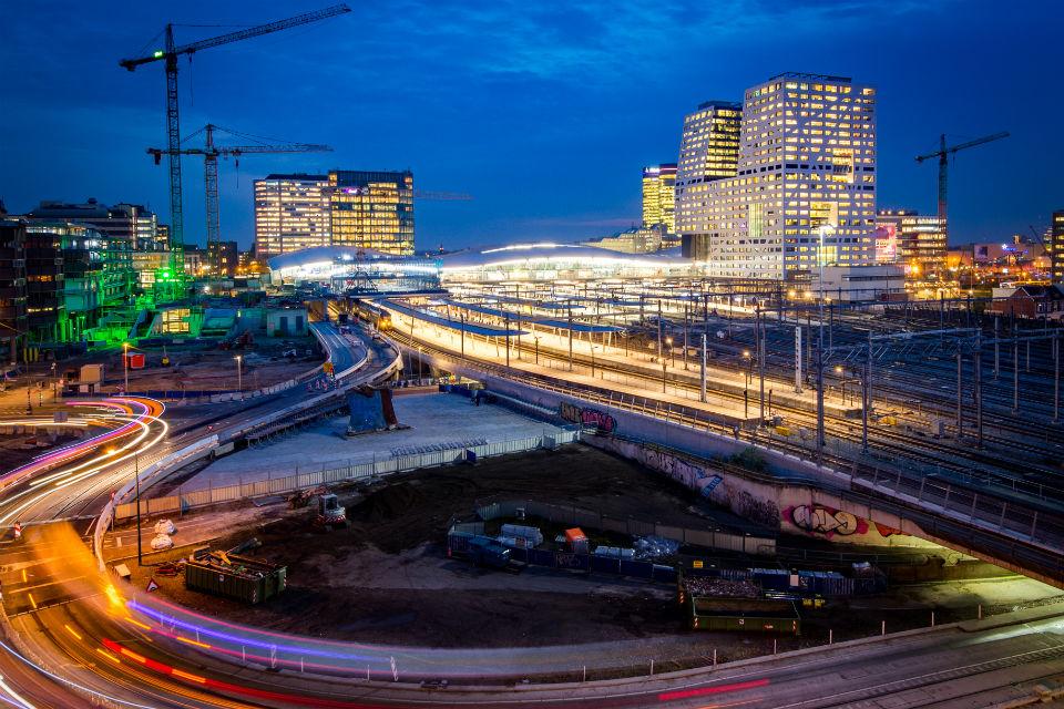 Treinstation Utrecht Centraal, foto: Movares