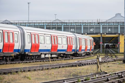Een trein van Transport for London