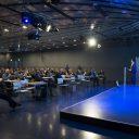 De conferentie tijdens RailTech 2015
