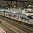 De hogesnelheidstrein ICE op station Rotterdam Centraal, foto: Joeri du Bois/Ricardo Nederland