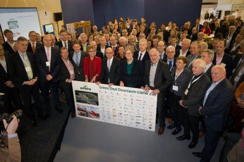 Green Deal op InfraTech 2017 in Rotterdam