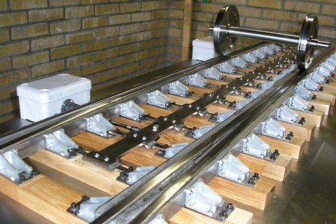 Prototype winterproof spoorwegwissel WSW 2